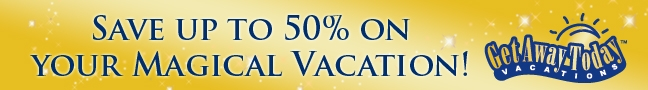 Save up to 50% on Your Magical Vacation